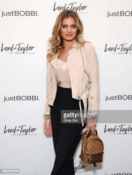 Anna Galchenyuk attends as Lord Taylor and Bobbi Brown celebrate the launch of the justBOBBI concept shop on April 17 2017 in New York City