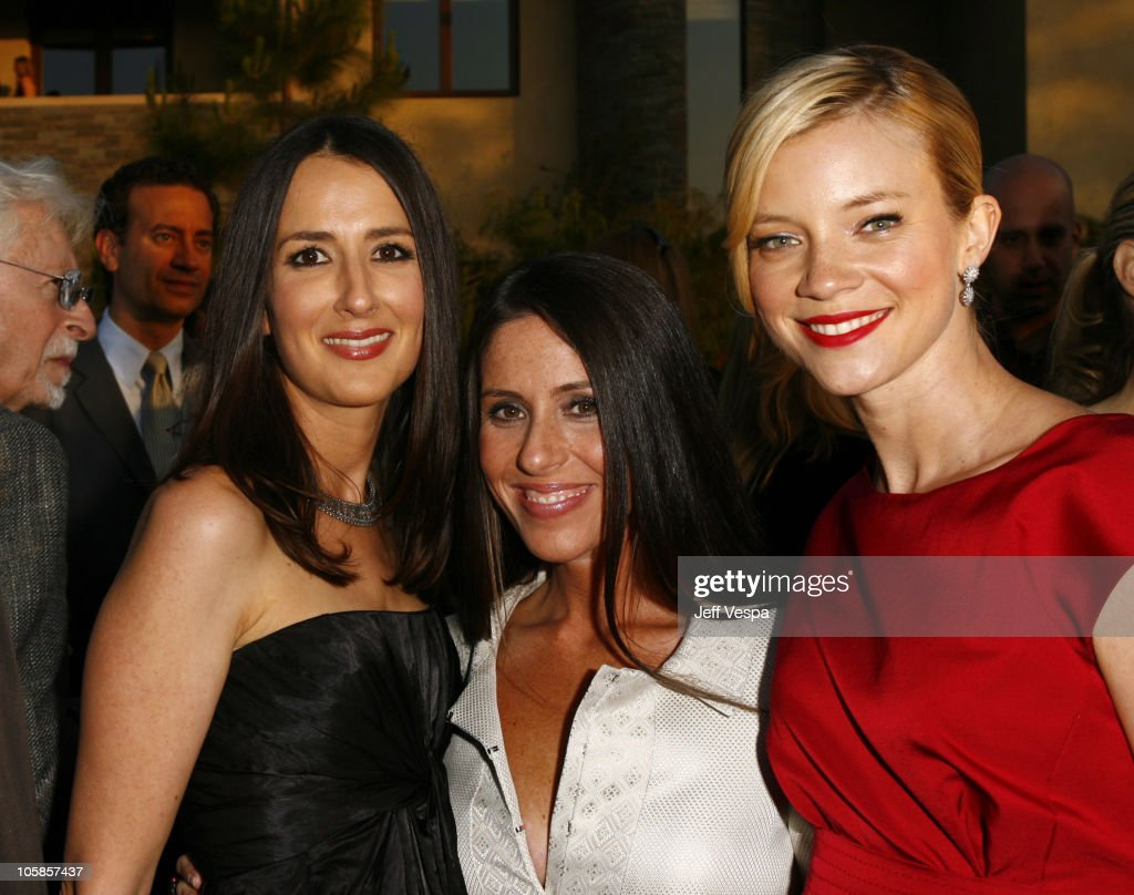 Anna Getty Soleil Moon Frye and Amy Smart during Sixth Annual Chrysalis Butterfly Ball Red Carpet at Home of Susan Harris Hayward Kaiser in...