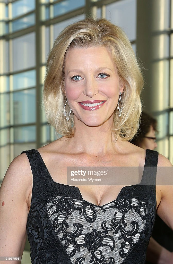 Anna Gunn at The 2013 Writers Guild Awards Arrivals held at The JW Marriott Los Angeles at L.A. LIVE on February 17, 2013 in Los Angeles, California.
