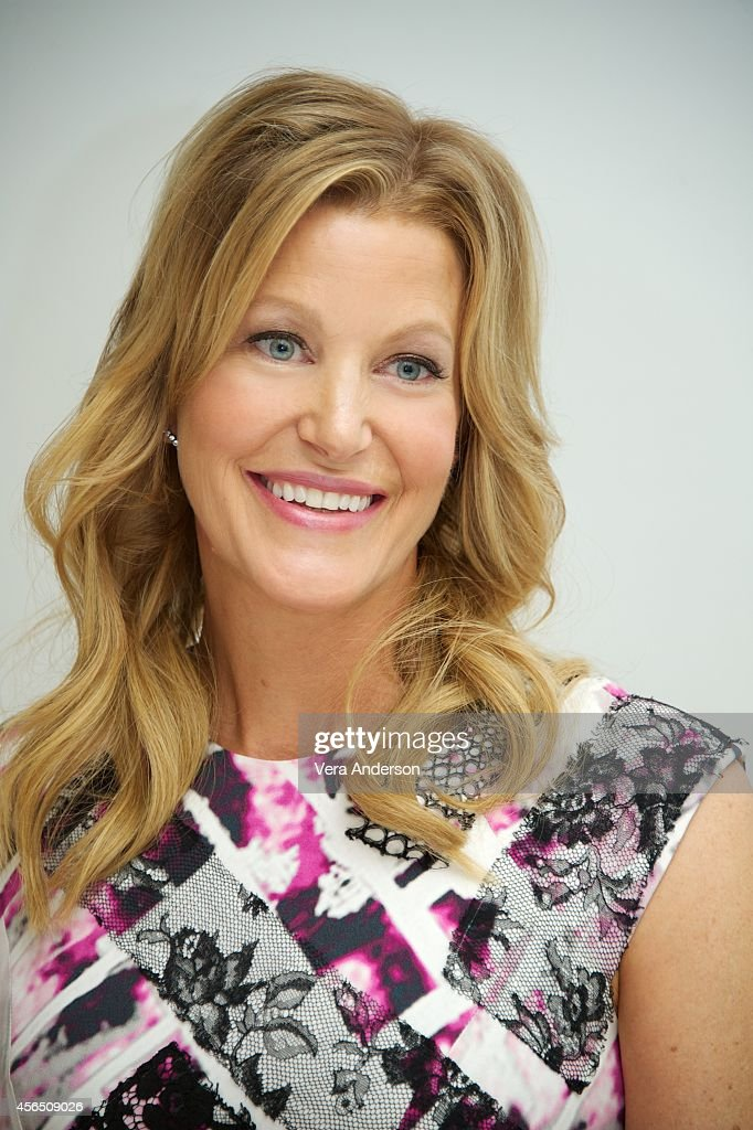 Anna Gunn at the 'Gracepoint' Press Conference at the Four Seasons Hotel on September 30 2014 in Beverly Hills California