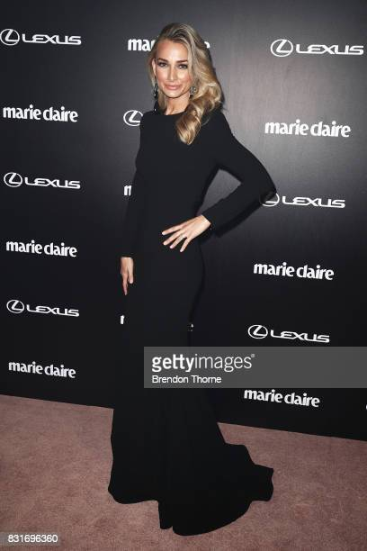 Anna Heinrich arrives ahead of the 2017 Prix de Marie Claire Awards on August 15 2017 in Sydney Australia
