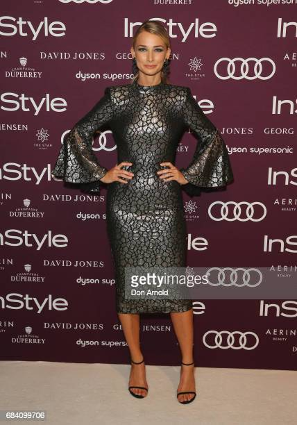 Anna Heinrich arrives ahead of the Women of Style Awards at The Star on May 17 2017 in Sydney Australia