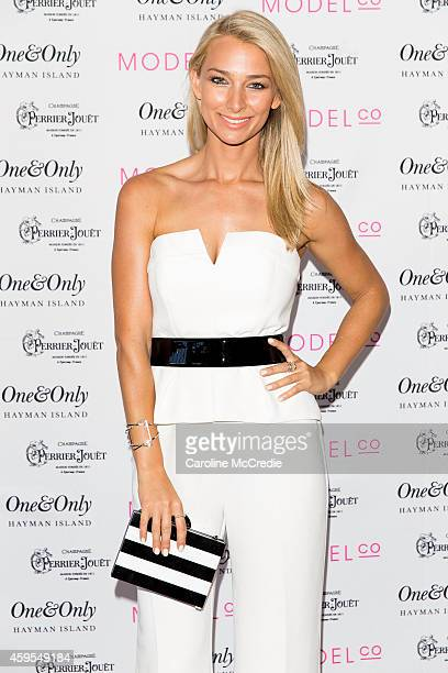 Anna Heinrich attends the ModelCo Women of Influence event at OneOnly Hayman Island on November 25 2014 in Hayman Island Australia