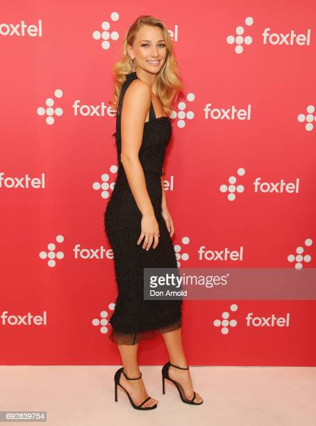 Anna Heinrich poses during a Foxtel Event at Hordern Pavilion on June 6 2017 in Sydney Australia