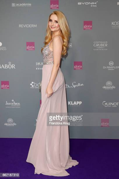 Anna Hiltrop attends the Gloria Deutsche Kosmetikpreis at Hilton Hotel on March 31 2017 in Duesseldorf Germany