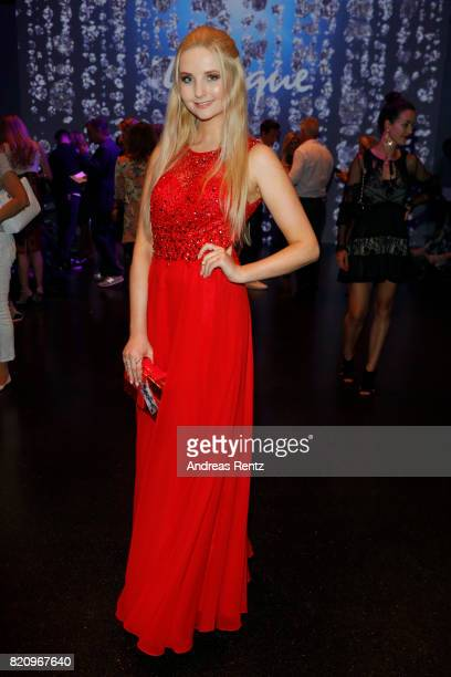 Anna Hiltrop attends the Unique show during Platform Fashion July 2017 at Areal Boehler on July 22 2017 in Duesseldorf Germany