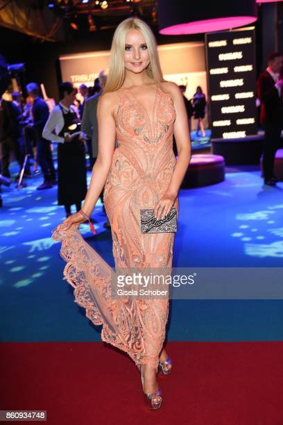 Anna Hiltrop gntm during the 'Tribute To Bambi' gala at Station on October 5 2017 in Berlin Germany