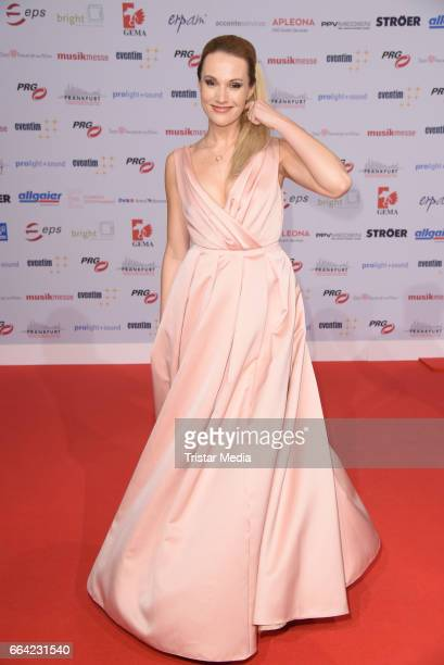 Anna Hofbauer attends the LEA PRG Live Entertainment Award 2017 at Festhalle Frankfurt on April 3 2017 in Frankfurt am Main Germany