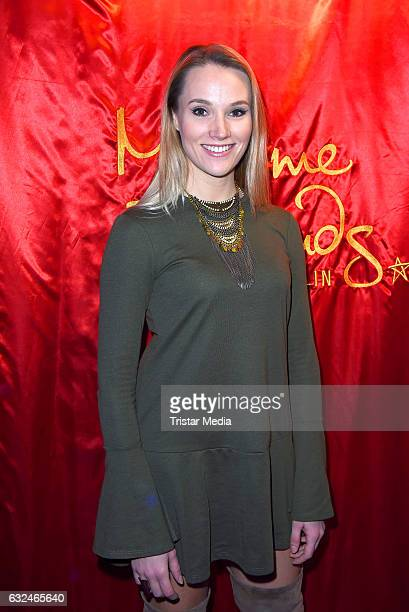 Anna Hofbauer attends the Ryan Gosling Wax Figure Unveiling At Madame Tussauds on January 23 2017 in Berlin Germany