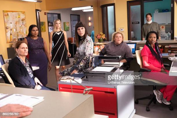 PROJECT 'Anna Jeremy's Meryl Streep Costume Party' Episode 605 Pictured Beth Grant as Beverly Janoszewski Mindy Kaling as Mindy Lahiri Rebecca...