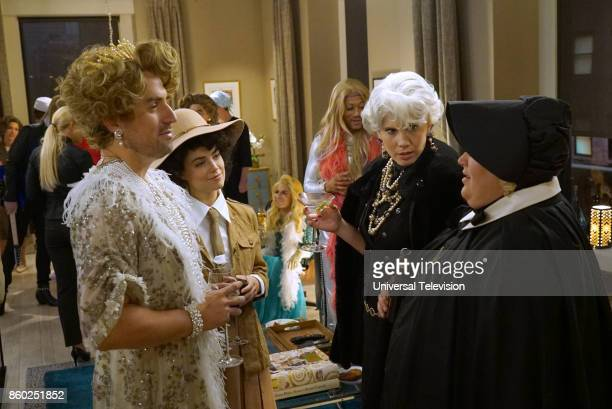 PROJECT 'Anna Jeremy's Meryl Streep Costume Party' Episode 605 Pictured Ed Weeks as Jeremy Reed Rebecca Rittenhouse as Anna Tipper Newton as Karen...