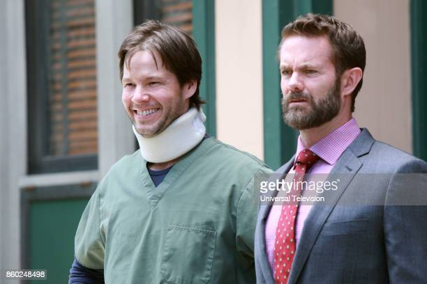 PROJECT 'Anna Jeremy's Meryl Streep Costume Party' Episode 605 Pictured Ike Barinholtz as Morgan Tookers Garret Dillahunt as Jody KimballKinney