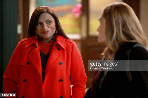 PROJECT 'Anna Jeremy's Meryl Streep Costume Party' Episode 605 Pictured Mindy Kaling as Mindy Lahiri Beth Grant as Beverly Janoszewski
