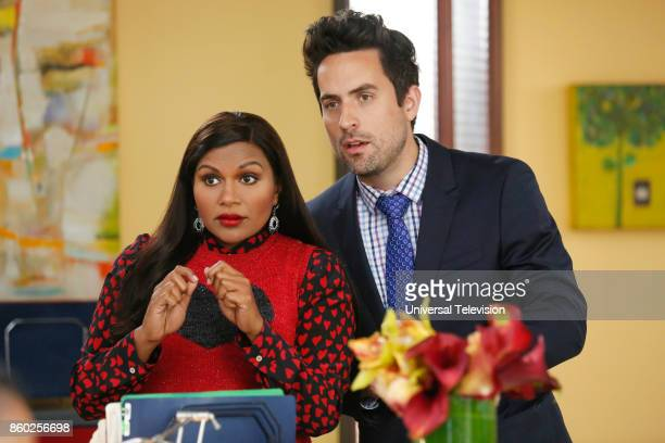 PROJECT 'Anna Jeremy's Meryl Streep Costume Party' Episode 605 Pictured Mindy Kaling as Mindy Lahiri Ed Weeks as Jeremy Reed