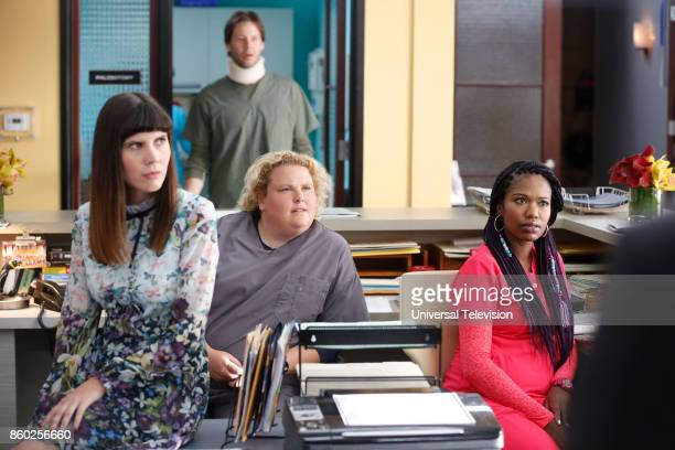 PROJECT 'Anna Jeremy's Meryl Streep Costume Party' Episode 605 Pictured Tipper Newton as Karen Ike Barinholtz as Morgan Tookers Fortune Feimster as...