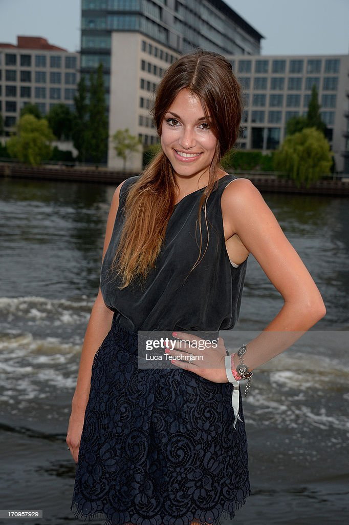 Anna Julia Kapfelsberger attends the ' Audi Urban Cinema ' on June 20, 2013 in Berlin, Germany.