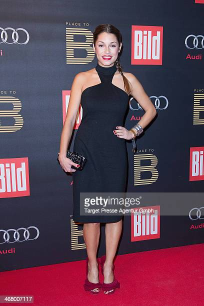 Anna Julia Kapfelsperger attend the BILD 'Place to B' Party at Grill Royal on February 8 2014 in Berlin Germany