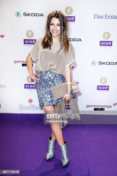 Anna Julia Kapfelsperger attends the Echo Award 2015 on March 26 2015 in Berlin Germany