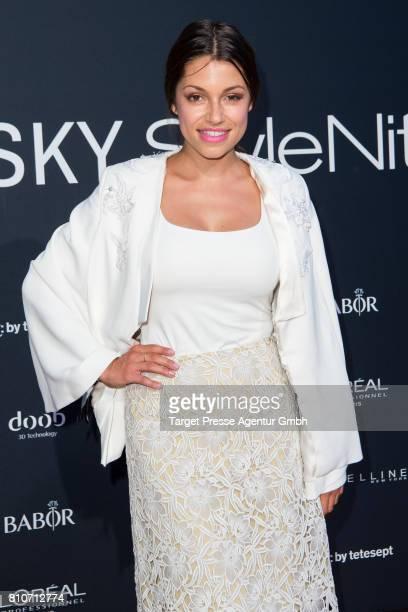 Anna Julia Kapfelsperger attends the MICHALSKY StyleNite during the MercedesBenz Fashion Week Berlin Spring/Summer 2018 at eWerk on July 7 2017 in...
