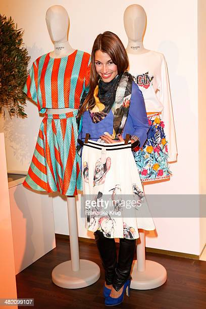 Anna Julia Kapfelsperger attends the 'Studio Italia La Perfezione del Gusto' Grand Opening at KaDeWe on April 02 2014 in Berlin Germany