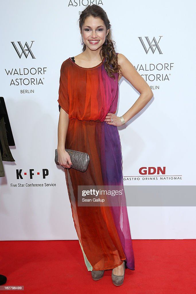 Anna Julia Kapfelsperger attends 'Waldorf Astoria Berlin Grand Opening' at Waldorf Astoria Berlin on February 27, 2013 in Berlin, Germany.