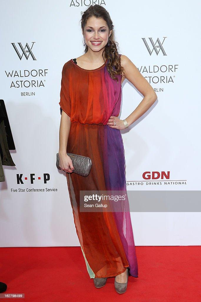 Anna Julia Kapfelsperger attends 'Waldorf Astoria Berlin Grand Opening' at Waldorf Astoria Berlin on February 27, 2013 in Berlin, Germany.
