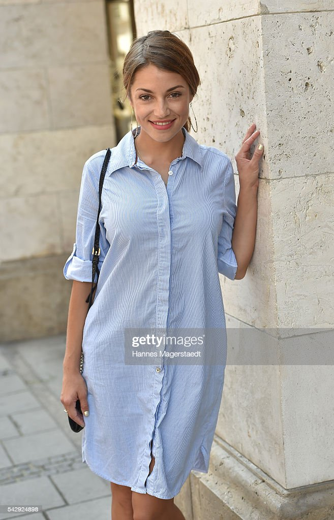 Anna Julia Kapfelsperger during the 'Sommerfest der Agenturen' at Hugo's on June 25, 2016 in Munich, Germany.
