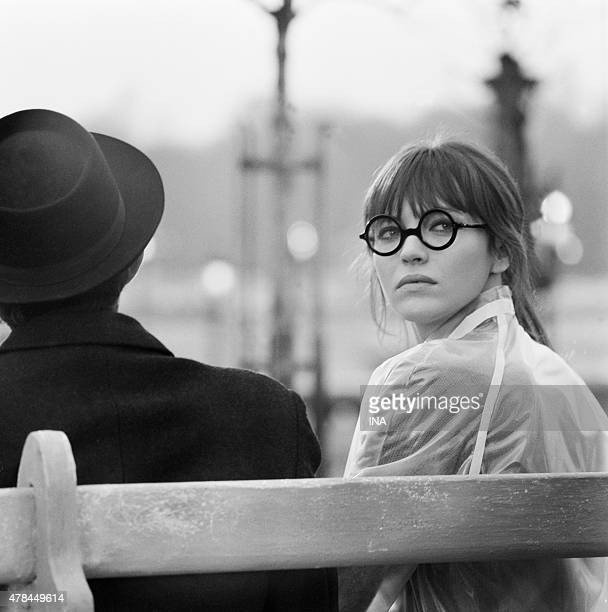 Anna Karina interprets the leading part in the television film ''Anna'' realized by Pierre Koralnik