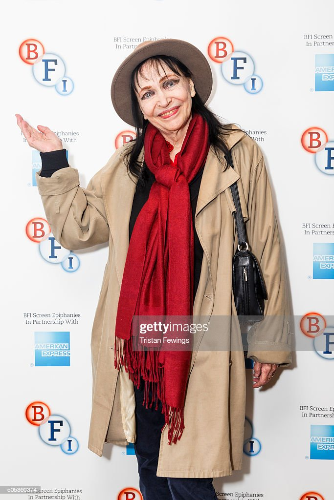 <a gi-track='captionPersonalityLinkClicked' href=/galleries/search?phrase=Anna+Karina&family=editorial&specificpeople=746277 ng-click='$event.stopPropagation()'>Anna Karina</a> introduces Singin' in the Rain as part of the BFI Screen Epiphanies series at BFI Southbank on January 17, 2016 in London, England.