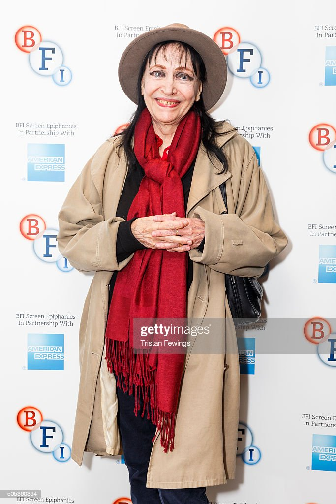 Anna Karina introduces Singin' in the Rain as part of the BFI Screen Epiphanies series at BFI Southbank on January 17, 2016 in London, England.
