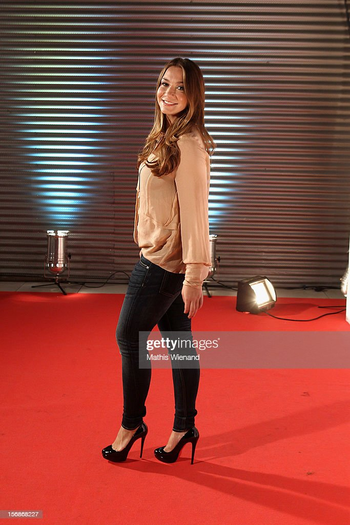 Anna Katharina Samsel attends the 'RTL Spendenmarathon' at RTL Studios on November 23, 2012 in Cologne, Germany.