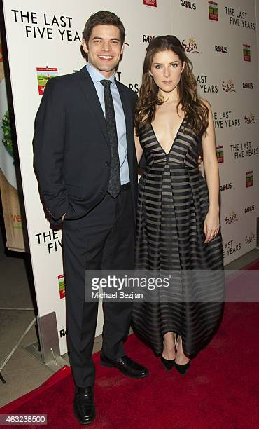 Anna Kendrick and Jeremy Jordan attend 'The Last Five Years' Premiere Presented By Sabra Hummus And Jackson's Honest Chips on February 11 2015 in Los...