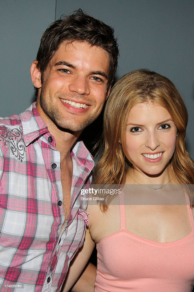 <a gi-track='captionPersonalityLinkClicked' href=/galleries/search?phrase=Anna+Kendrick&family=editorial&specificpeople=3244893 ng-click='$event.stopPropagation()'>Anna Kendrick</a> and Jeremy Jordan pose at the wrap party for the film 'The Last 5 Years' at T.G. Whitney's on July 18, 2013 in New York City.