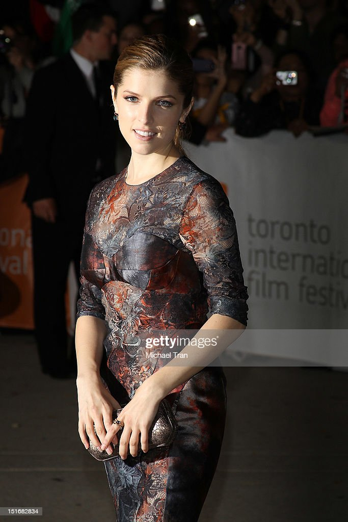 Anna Kendrick arrives at 'The Company You Keep' premiere during the 2012 Toronto International Film Festival held at Roy Thomson Hall on September 9...