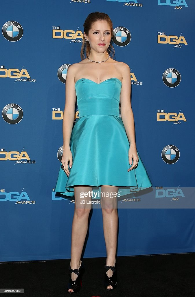 <a gi-track='captionPersonalityLinkClicked' href=/galleries/search?phrase=Anna+Kendrick&family=editorial&specificpeople=3244893 ng-click='$event.stopPropagation()'>Anna Kendrick</a> attends the 66th Annual Directors Guild Of America Awards Press Room held at the Hyatt Regency Century Plaza on January 25, 2014 in Century City, California.