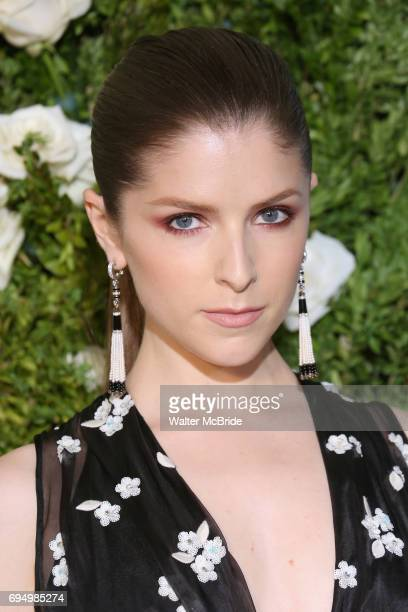 Anna Kendrick attends the 71st Annual Tony Awards at Radio City Music Hall on June 11 2017 in New York City