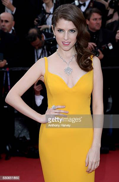 Anna Kendrick attends the 'Cafe Society' premiere and the Opening Night Gala during the 69th annual Cannes Film Festival at the Palais des Festivals...