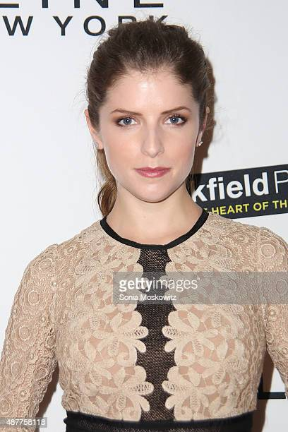 Anna Kendrick attends The Daily Front Row's Third Annual Fashion Media Awards at the Park Hyatt New York on September 10 2015 in New York City