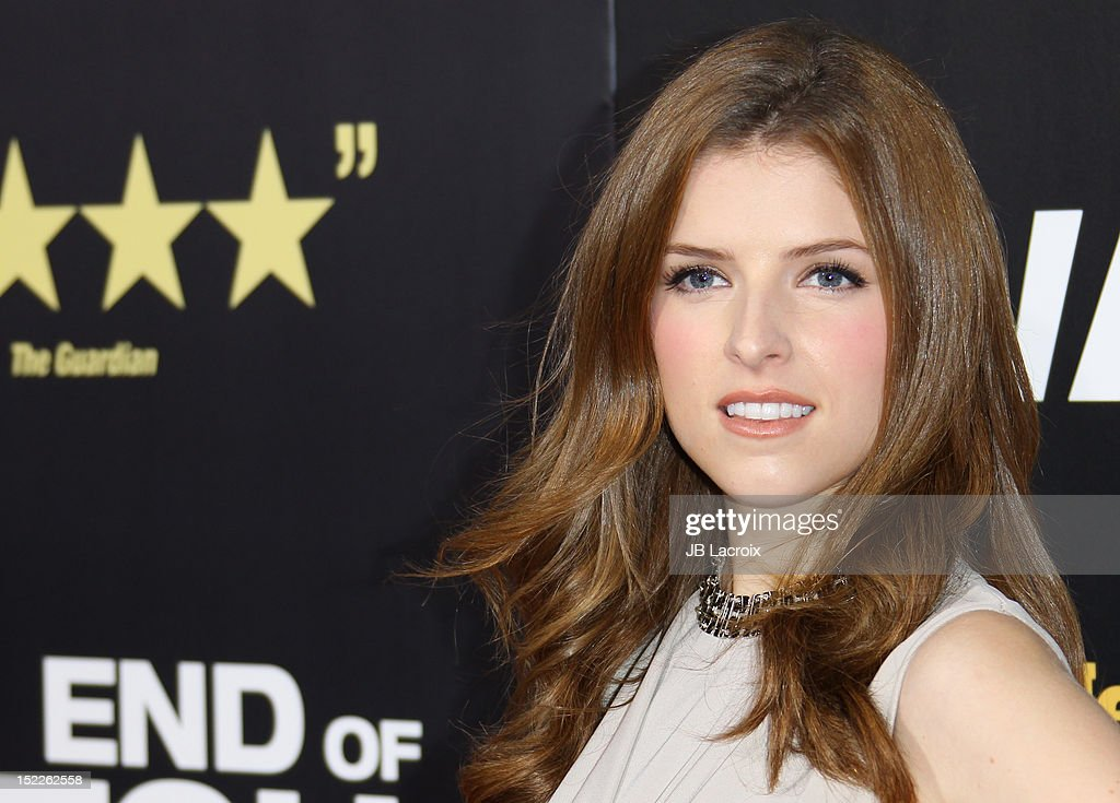 <a gi-track='captionPersonalityLinkClicked' href=/galleries/search?phrase=Anna+Kendrick&family=editorial&specificpeople=3244893 ng-click='$event.stopPropagation()'>Anna Kendrick</a> attends the 'End Of Watch' Los Angeles premiere at Regal Cinemas L.A. Live on September 17, 2012 in Los Angeles, California.