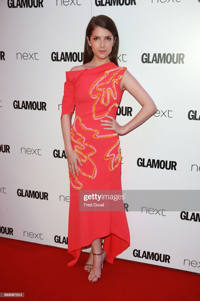 Anna Kendrick attends the Glamour Women of The Year awards 2017 at Berkeley Square Gardens on June 6, 2017 in London, England.