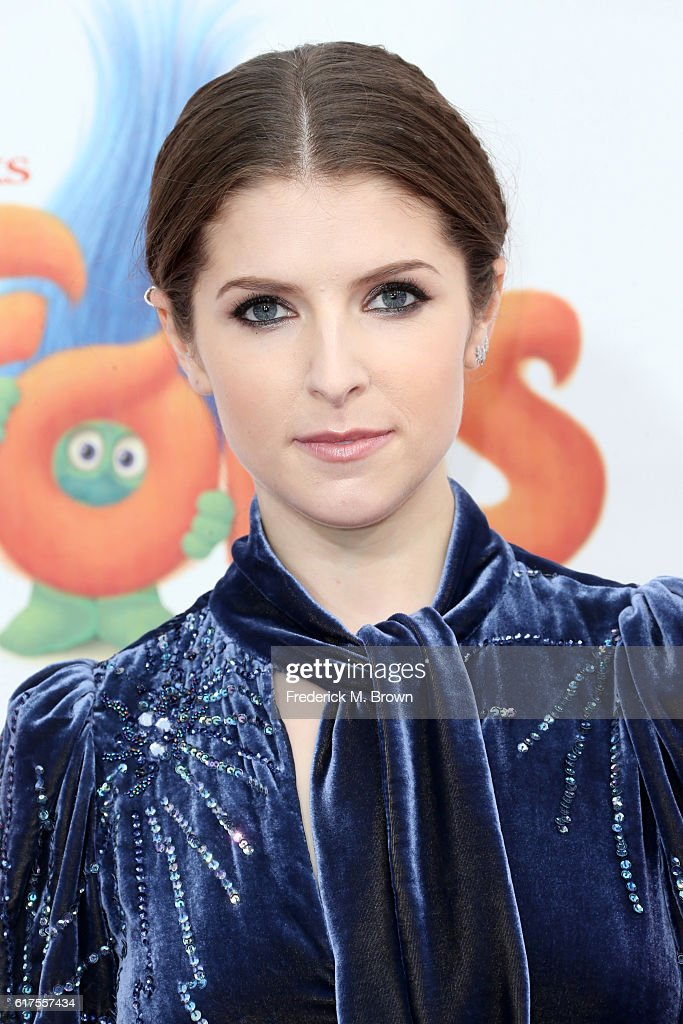 Anna Kendrick attends the premiere of 20th Century Fox's 'Trolls' at Regency Village Theatre on October 23, 2016 in Westwood, California.