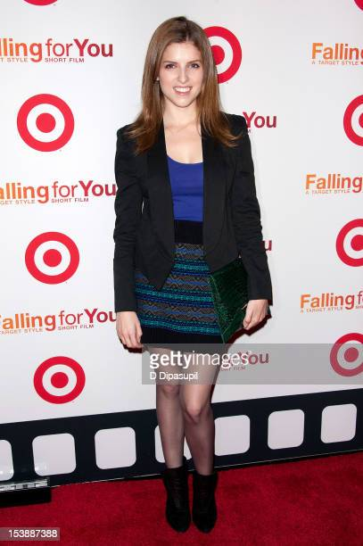 Anna Kendrick attends the Target 'Falling For You' premiere at Terminal 5 on October 10 2012 in New York City