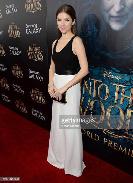 Anna Kendrick attends the world premiere of 'Into the Woods' at the Ziegfeld Theatre on December 8 2014 in New York City The stars came out for the...
