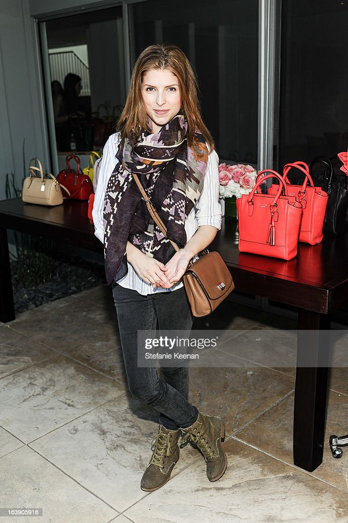 Anna Kendrick attends Theodora And Callum Cocktail Party on March 13, 2013 in Beverly Hills, California.