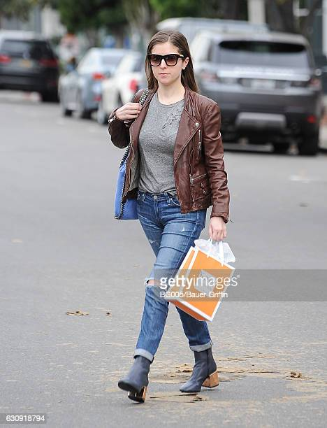 Anna Kendrick is seen on January 03 2017 in Los Angeles California