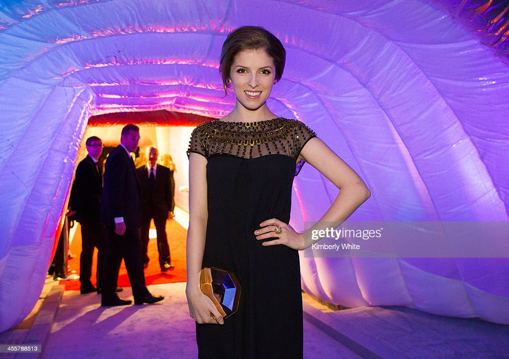 Anna Kendrick poses for a photograph at NASA Ames Research Center on December 12, 2013 in Mountain View, California.