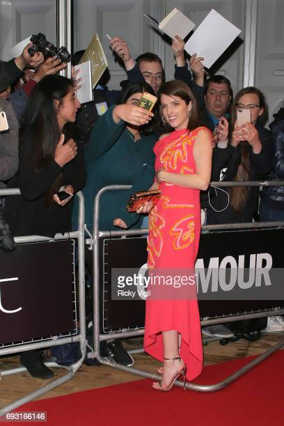 Anna Kendrick seen leaving Glamour Women Of The Year 2017 Awards afterparty held at Berkeley Square Gardens on June 6 2017 in London England