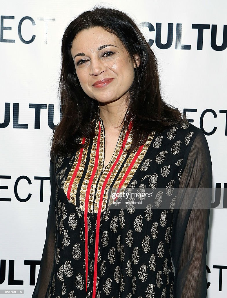 Anna Khaja attends the 'Shaheed: The Dream And Death Of Benazir Bhutto' Off-Broadway Opening Night at Culture Project on March 14, 2013 in New York City.