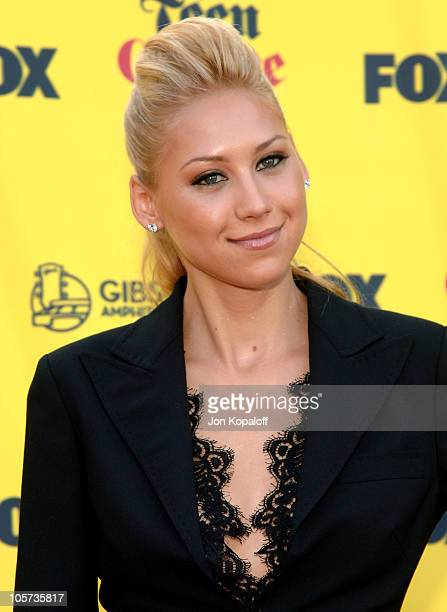 Anna Kournikova during 2005 Teen Choice Awards Arrivals at Gibson Amphitheater in Universal City California United States