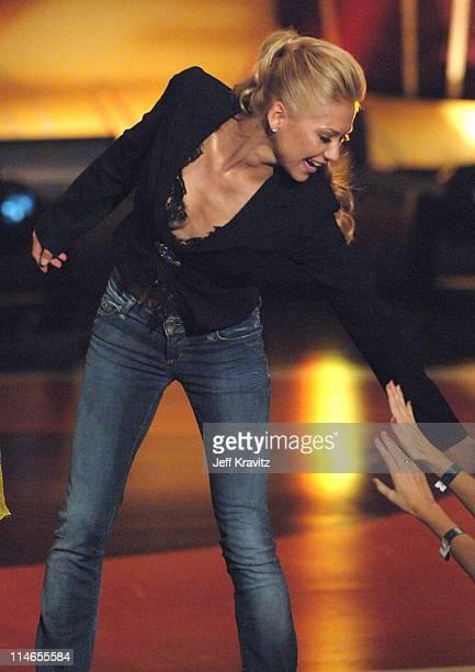 Anna Kournikova during 2005 Teen Choice Awards Show at Gibson Amphitheater in Universal City California United States